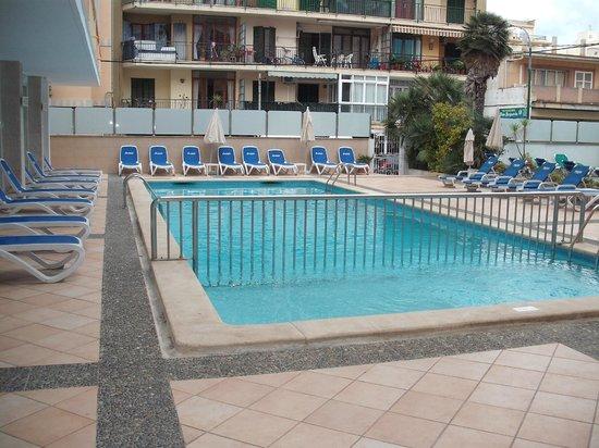 Hotel Calma: la piscine
