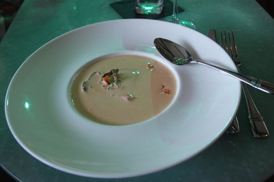 Pier W: The Lobster Bisque is rich and creamy.