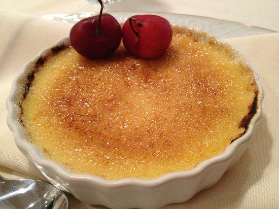 Cameron's Restaurant: Creme Brulee