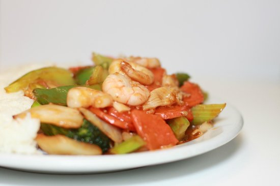 Huong Lan: #40. Seafood Stir-Fried