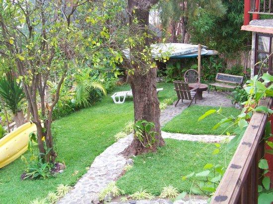 Posada Schumann: Hotel gardens