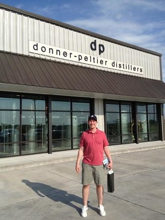Donner-Peltier Distillers: friendly people and good liquor make this a must visit!