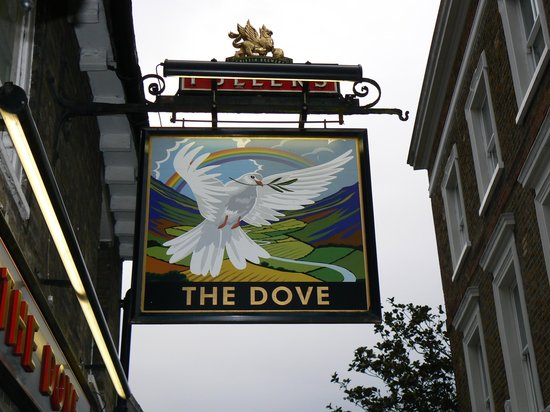 The Dove at Hammersmith: highly recommended
