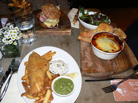 The Dove at Hammersmith: great food