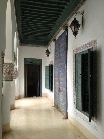 Dar Malak: il corridoio della camera