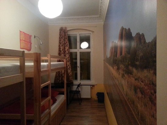Poco Loco Hostel: The room I was in