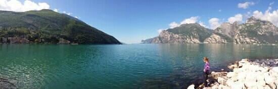 Hotel Benaco: Lago di Garda bei Torbole