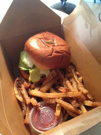 The Cedars Social: Burger and Fries to go
