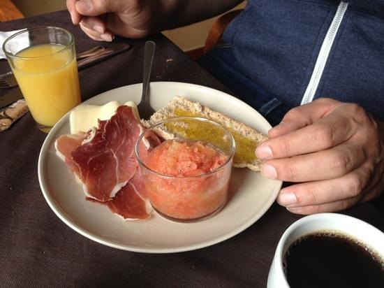 Hostal El Dorado: le petit déjeuner