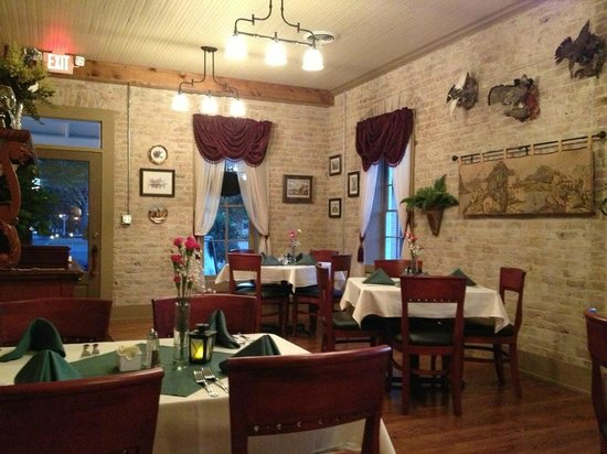 Alpine Haus Restaurant Main Dining Room
