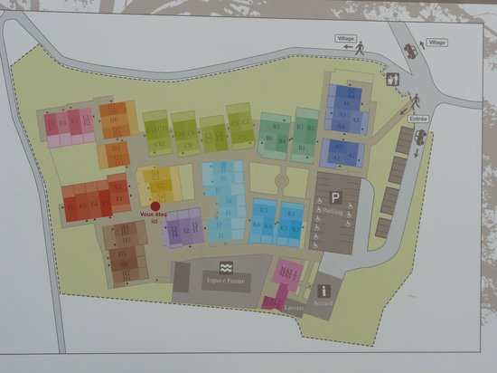 Malaucene, Frankrijk: Plan des mazets par Locapontus