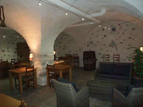Domaine du Grand Cellier : salle de convivialité