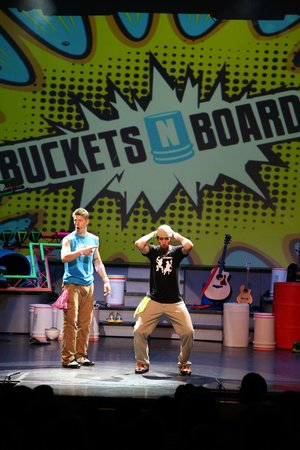 Buckets N Boards Comedy Percussion Show: Buckets N Boards 2013