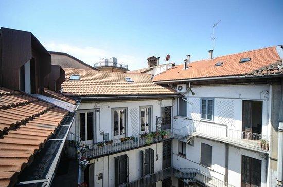 Locanda San Paolo: La nostra corte interna vista dal terzo piano