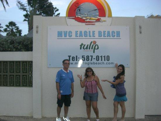 MVC Eagle Beach: Con mi Familia