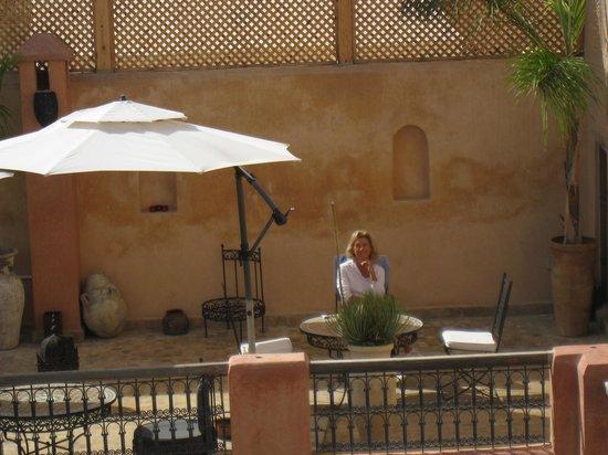 Riad Said: Colazione in terrazza