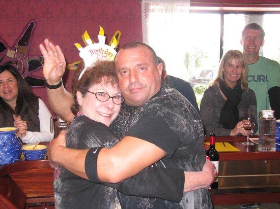 Tobin James Cellars : mom having too much fun on her birthday!