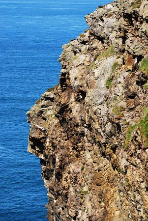 Ramsey Island Boat Trips -Thousand Islands Expeditions: Blue sea on a sunny day in May