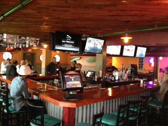 Bum Rogers: The newly remodeled bar