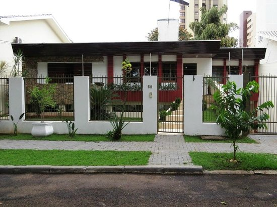 Casa do Turista: Front of house from street