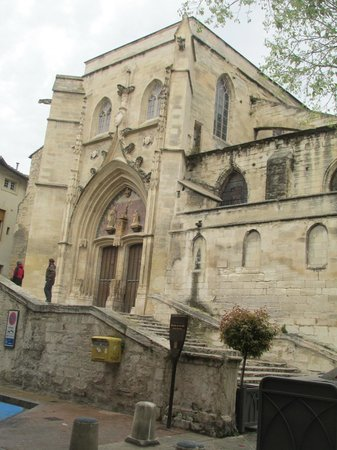 Mercure Avignon Centre Palais des Papes : View from my hotel window