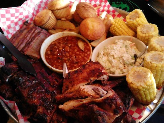 Famous Dave's Barbeque: Feast for Four Brisket Dinner