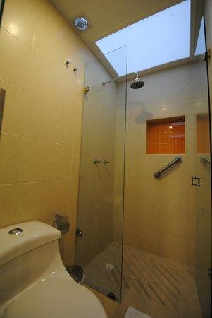 Hotel La Mansion: Baño habitación doble standard