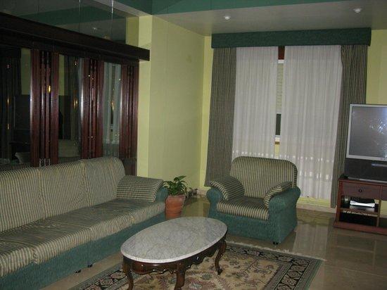 San Juan II: Una de las salas de estar