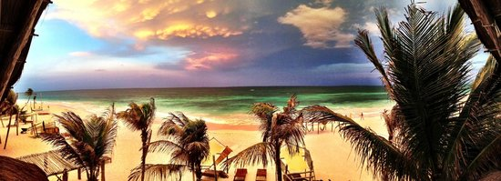 Ahau Tulum, view from our room. photo by damanihiggins