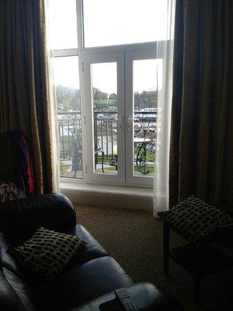 Macdonald Old England Hotel & Spa: The balcony