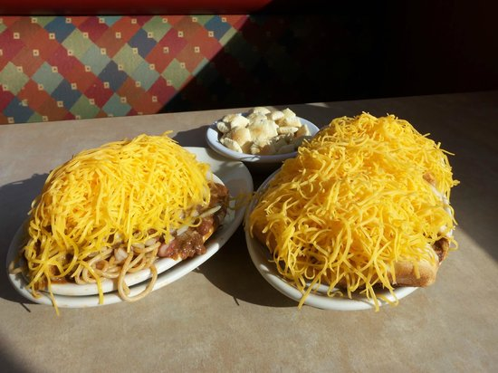 Skyline Chili: Some Skylines really add the cheese!!