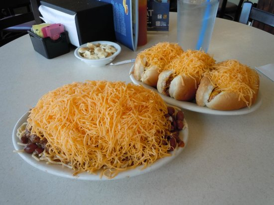 Skyline Chili: A work of art.