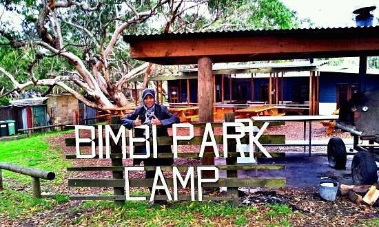 Bimbi Park - Camping Under Koalas: lovely fresh and crisp autumn morning  at bimbi park