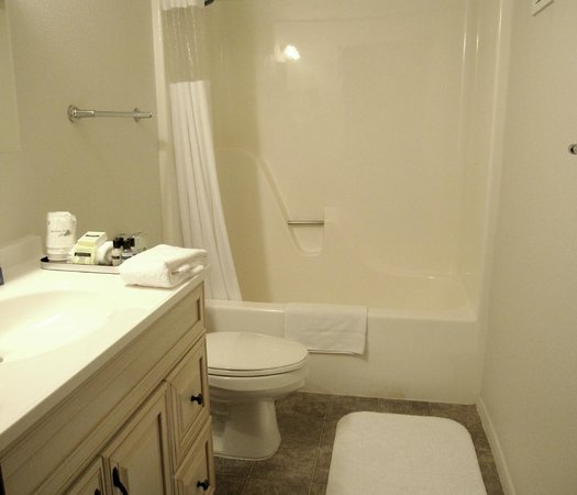 Rodeway Inn and Suites: Bathroom