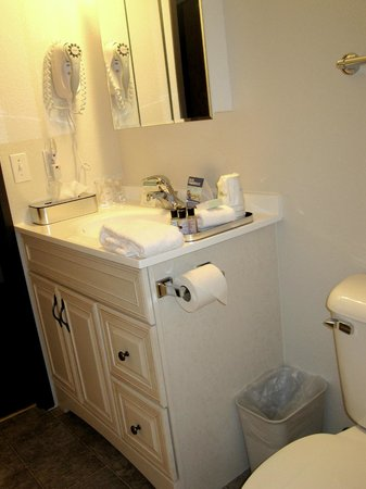Rodeway Inn and Suites: Full size bathroom