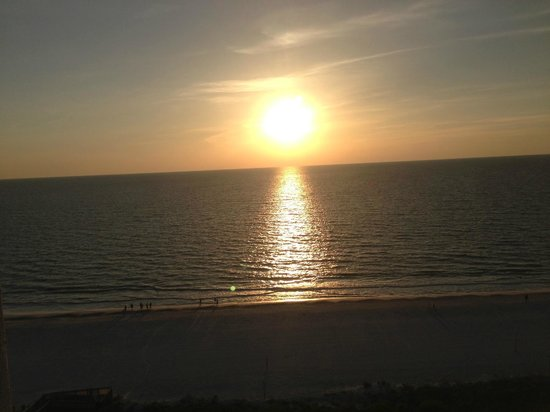 Marriott's Crystal Shores: sunset