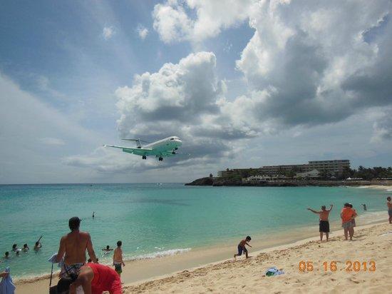 The Westin Dawn Beach Resort & Spa, St. Maarten : Planes At Simson Bay