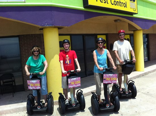 Segway Tours by SegCity: Granny's and teens love the ride
