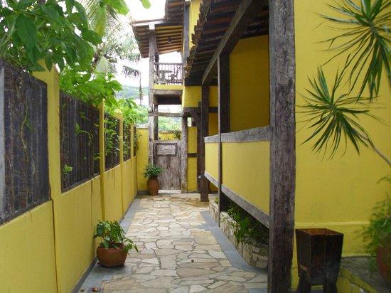 Hotel Mandragora : pasillo