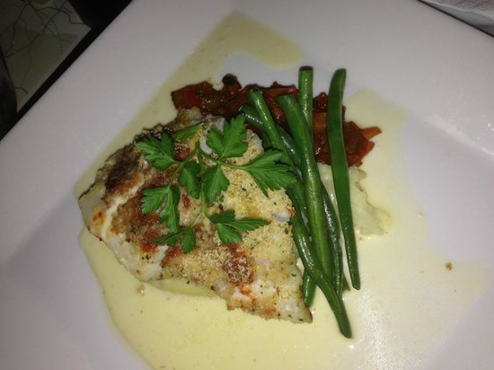 Fitzpatrick's Bar: Cod and ragu...delicious!