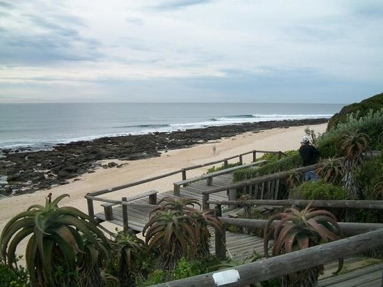 African Perfection Jeffreys Bay: Supertubes from outside venue
