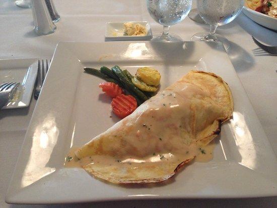 Cornerstone Bistro: Seafood crepe regular menu