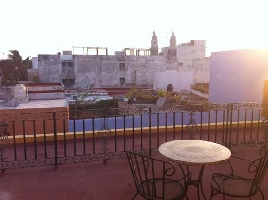 Plaza Colonial Hotel Campeche : cerca de la catedral