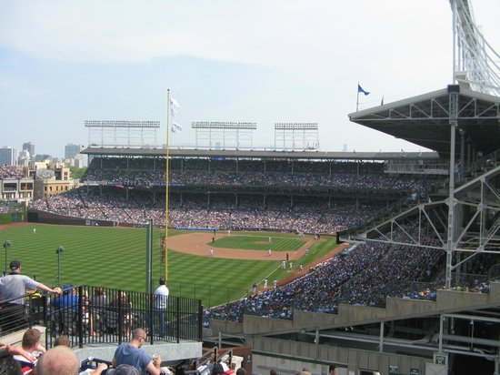 Wrigley View Rooftop: View of Wrigley