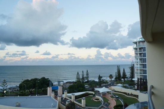 Mantra Mooloolaba Beach Resort: Taken from our verandah