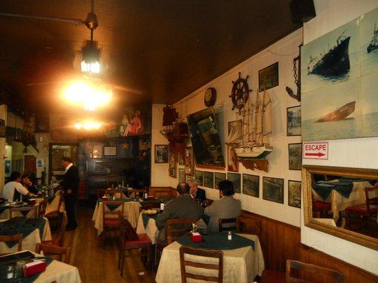 Bar Restaurant Cinzano: Comedor principal