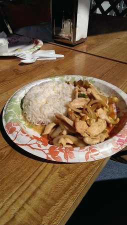 Payo's Thai Kitchen and Cabins: Chicken with Cashews
