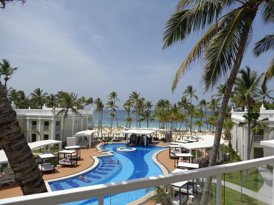 Hotel Riu Palace Bavaro: View from our balcony