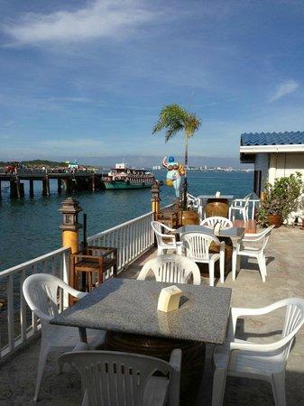 Lareena Resort: View from the restaurant