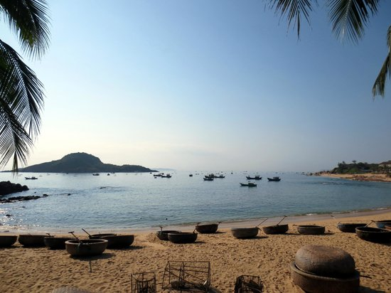 Haven Vietnam: Beach out the front
